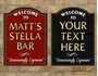 Picture of Personalised Beer Home Bar Sign