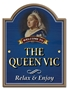 Picture of Personalised Queen Vic Pub Sign