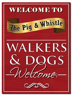 Picture of Personalised Walkers & Dogs Pub Sign
