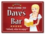 Picture of Waitress Pub Sign