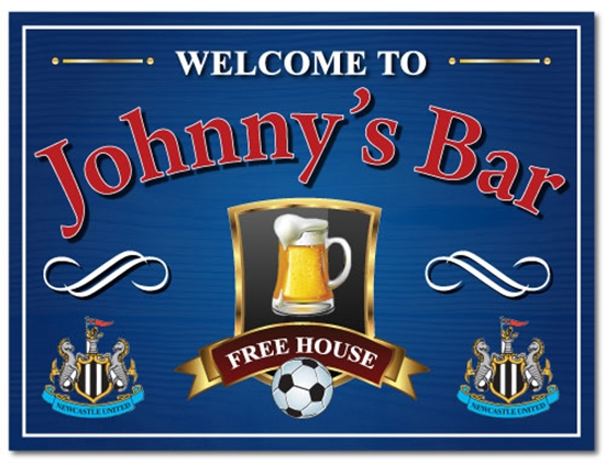 Picture of Personalised Pub Football Sign