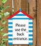 Picture of Personalised Beach Hut Sign