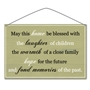 "Picture of ""May this home be blessed..."" Metal Vintage Sign"