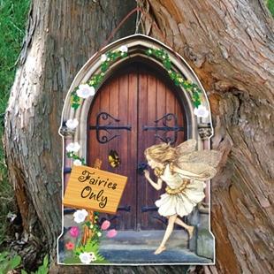 Picture of Fairy Door Garden Sign