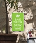 Picture of Keep Calm Garden Sign