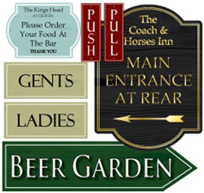 Picture for category General Pub Signs