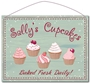 Picture of Personalised Cupcake Sign