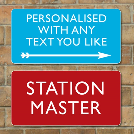 Picture of Personalised Railway Sign