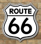 Picture of Route 66  Sign