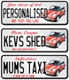 Picture of American Style Number Plate Mini Cooper