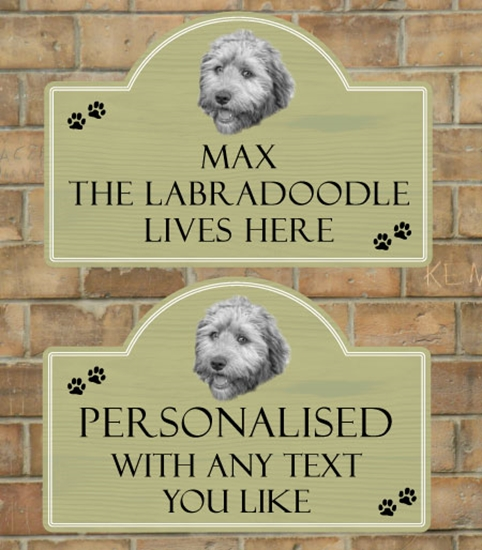 Picture of Labradoodle Sign