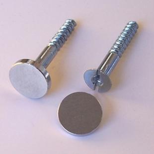 Picture of 2x Metal Fixings Screws & Caps