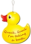 Picture of Rubber Duck Shaped Sign