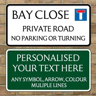 Picture of UK Personalised Street Sign