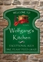 Picture of Kitchen Sign - Traditional Salt and Pepper Pot Shaped