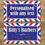 Picture of Personalised Rectangular Barber Shop Sign