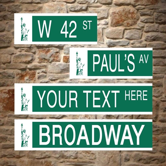 Picture of Personalised New York Street Sign