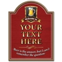 Picture of Beer is the answer Personalised Pub Sign