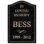 Picture of Personalised Gravestone Effect Sign