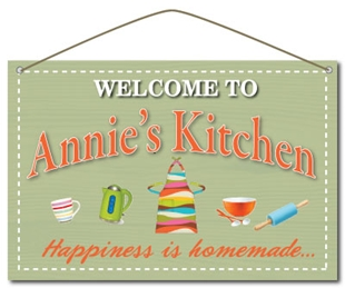 Picture of Personalised Metal Kitchen Sign