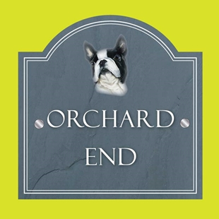 Picture of Boston Terrier  Personalised House Sign