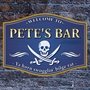Picture of Traditional Barrel Shaped Pub Home Bar Sign with Jolly Roger Pirate Skull and Swords