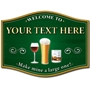 Picture of Make mine a large one! Home pub sign