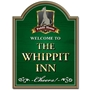 Picture of Whippet Dog Personalised Pub Sign