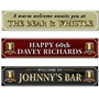 Picture of Personalised pub style banner