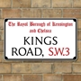 Picture of  Old London Street Signs, any street, road or square!