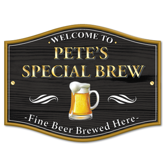 Picture of Personalised Home Brew pub sign