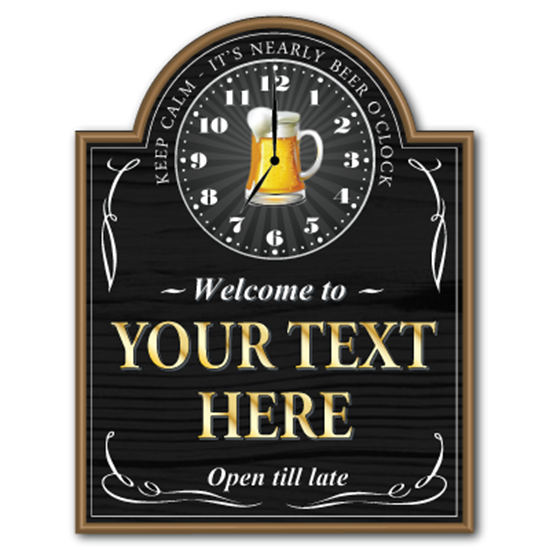 Picture of Beer o'clock Home Bar Sign