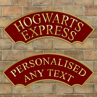 Picture of Hogwarts Express Railway Train Sign