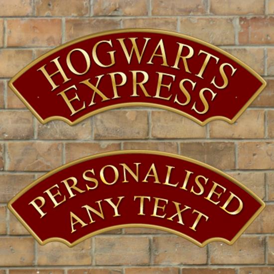 Jaf Graphics Hogwarts Express Railway Train Sign