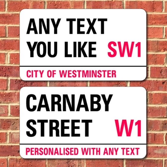Picture of XL Personalised London Street Sign