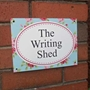 Picture of Shabby Chic Style Roses Sign