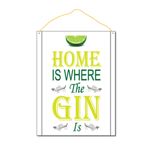 Picture of Home Is Where The Gin Is
