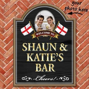 Picture of Personalised Photo Pub Sign