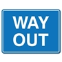 Picture of Way Out Car Park Sign