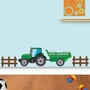 Picture of Personalised Tractor & Trailer Wall Sticker