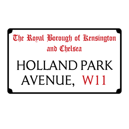 Picture of Old London Street Sign, Road Sign, Plaque Personalised any text you like