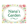 Picture of Floral Garden Sign