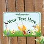 Picture of Colourful Kid's Garden Sign