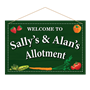 Picture of Personalised Allotment Garden Sign