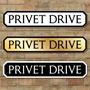 Picture of Privet Drive Sign, Road Sign, Vintage Street Sign
