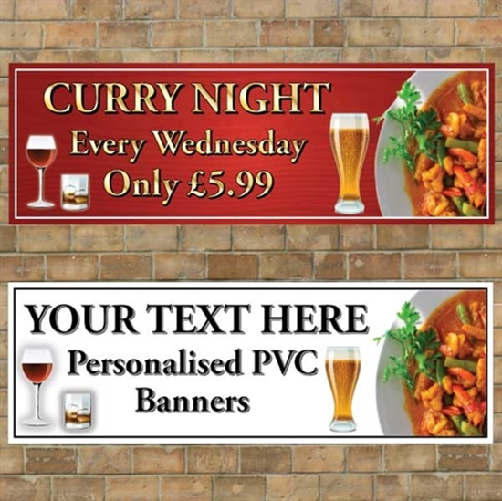 Picture of Curry Night Banner