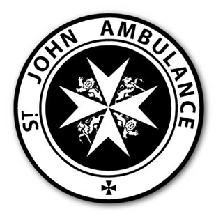 Picture of St John's Ambulance  Sign Seen on Vintage POLICE PHONE BOXES