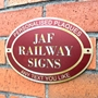 Picture of Oval Railway Station Sign
