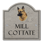 Picture of German Shepherd House Sign