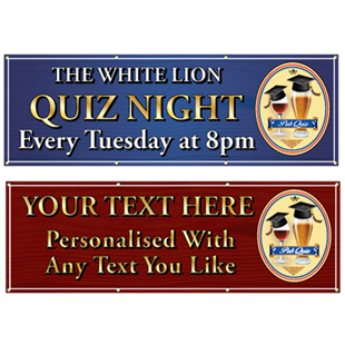 Picture of Quiz Night Pub Banner